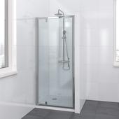 Bruynzeel Lino draaideur chroom 90x195 cm