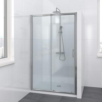 Bruynzeel Lino schuifdeur 2-delig chroom 120x195 cm