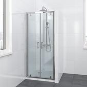 Bruynzeel Lino pendeldeur chroom 90x195 cm