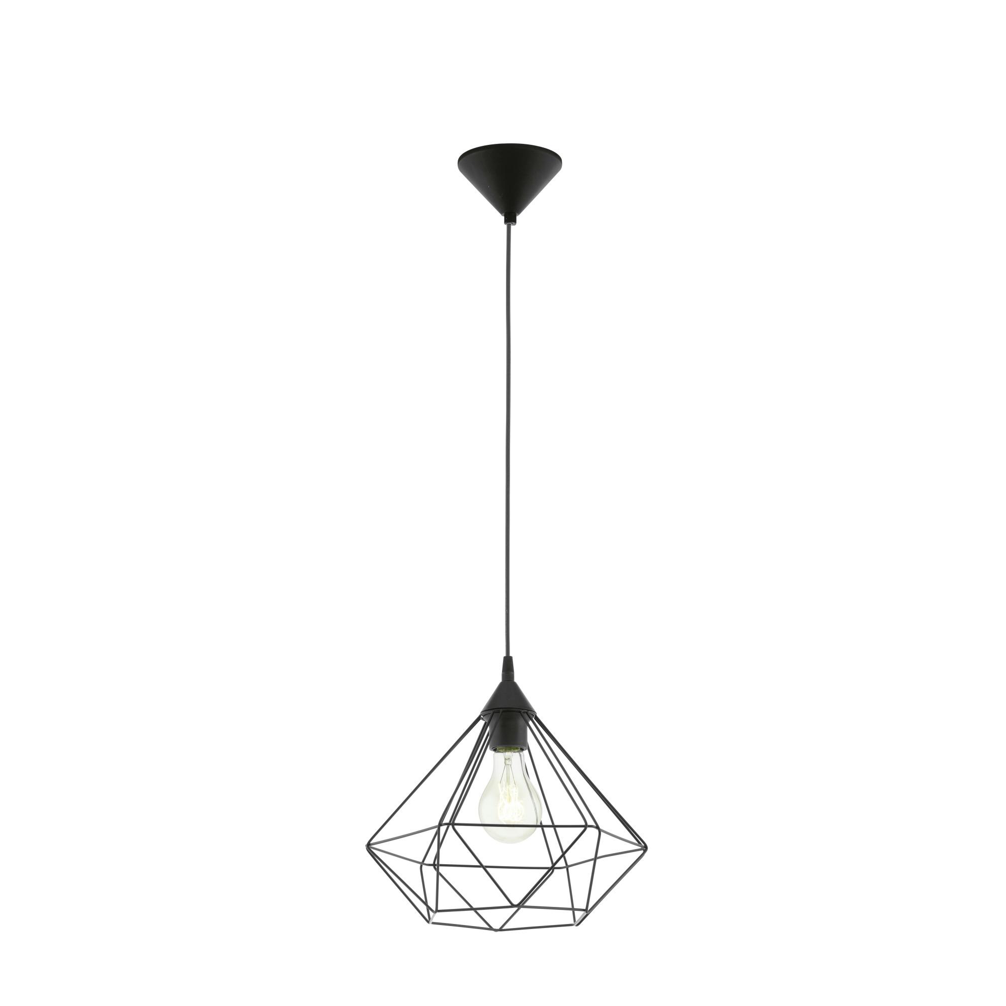 Eglo Tarbes Hanglamp Zwart 32,5 cm