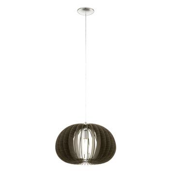 EGLO hanglamp Cossano Ø450 mm bruin