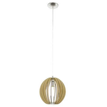 EGLO hanglamp Cossano Ø300 mm naturel