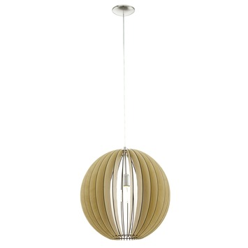 EGLO hanglamp Cossano Ø500 mm naturel