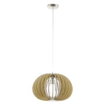 EGLO hanglamp Cossano Ø450 mm naturel