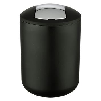 Wenko Prullenbak Brasil Zwart 2 Liter