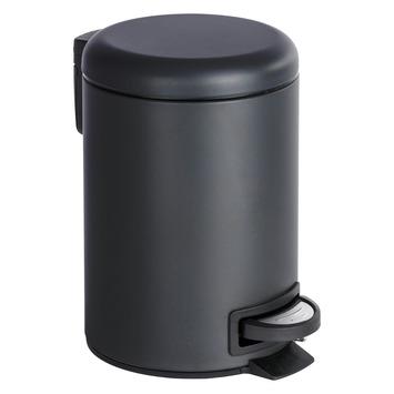 Wenko Pedaalemmer Leman Zwart 3 Liter