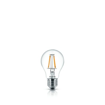 Philips LED lamp filament E27 40W helder warm wit
