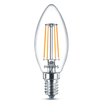Philips classic LEDlamp E14 40 watt warm wit