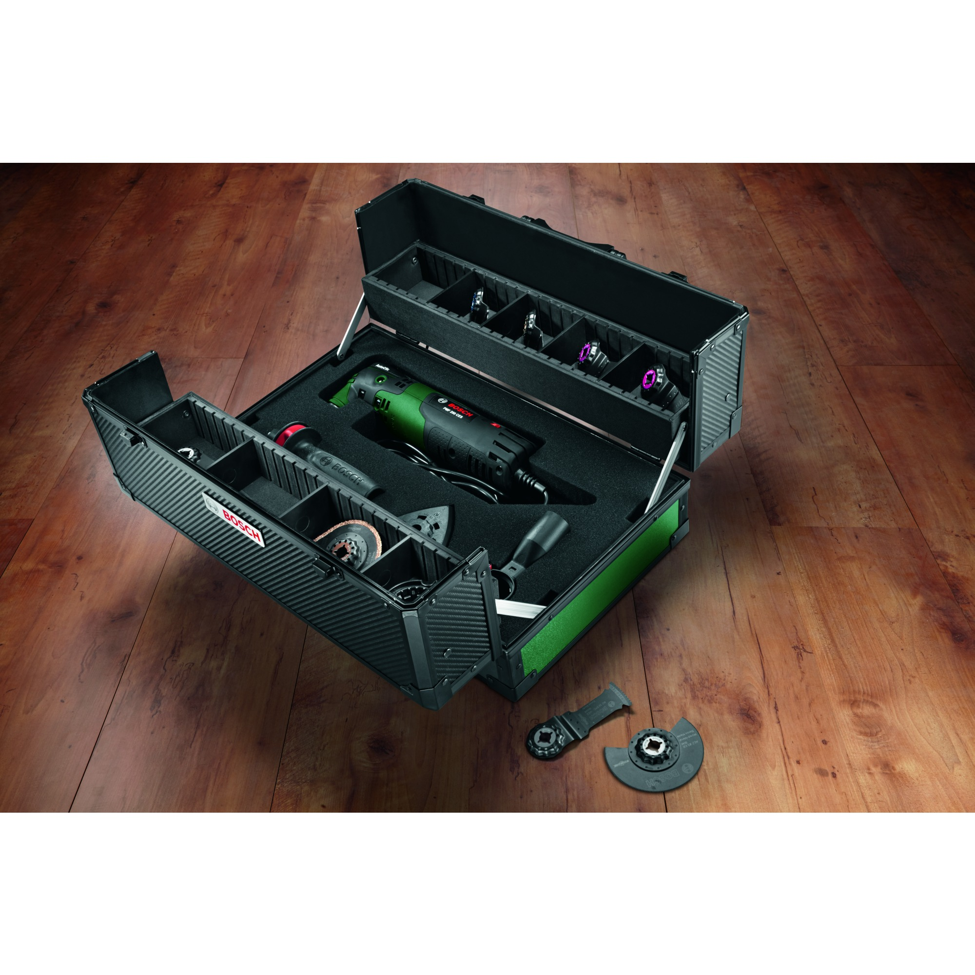 Bosch multitool PMF250 CES toolbox