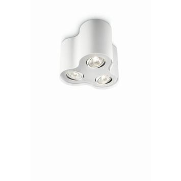 Philips Pillar spot met 3 x ecohalogeen 35W = 45W wit