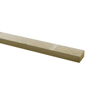 Steigerhout verbindingslat zand geborsteld 30x62 mm 250 cm