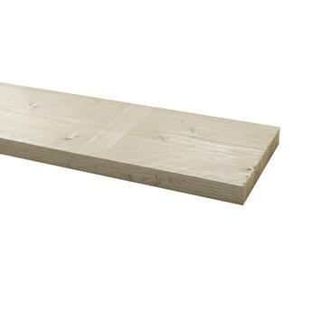 Steigerhout geborsteld wit 32x200 mm 250 cm
