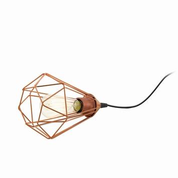 Tafellamp Tarbes E27 koper