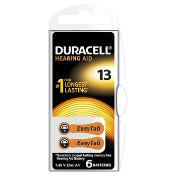 Duracell batterij gehoorapparaat 13 6 stuks