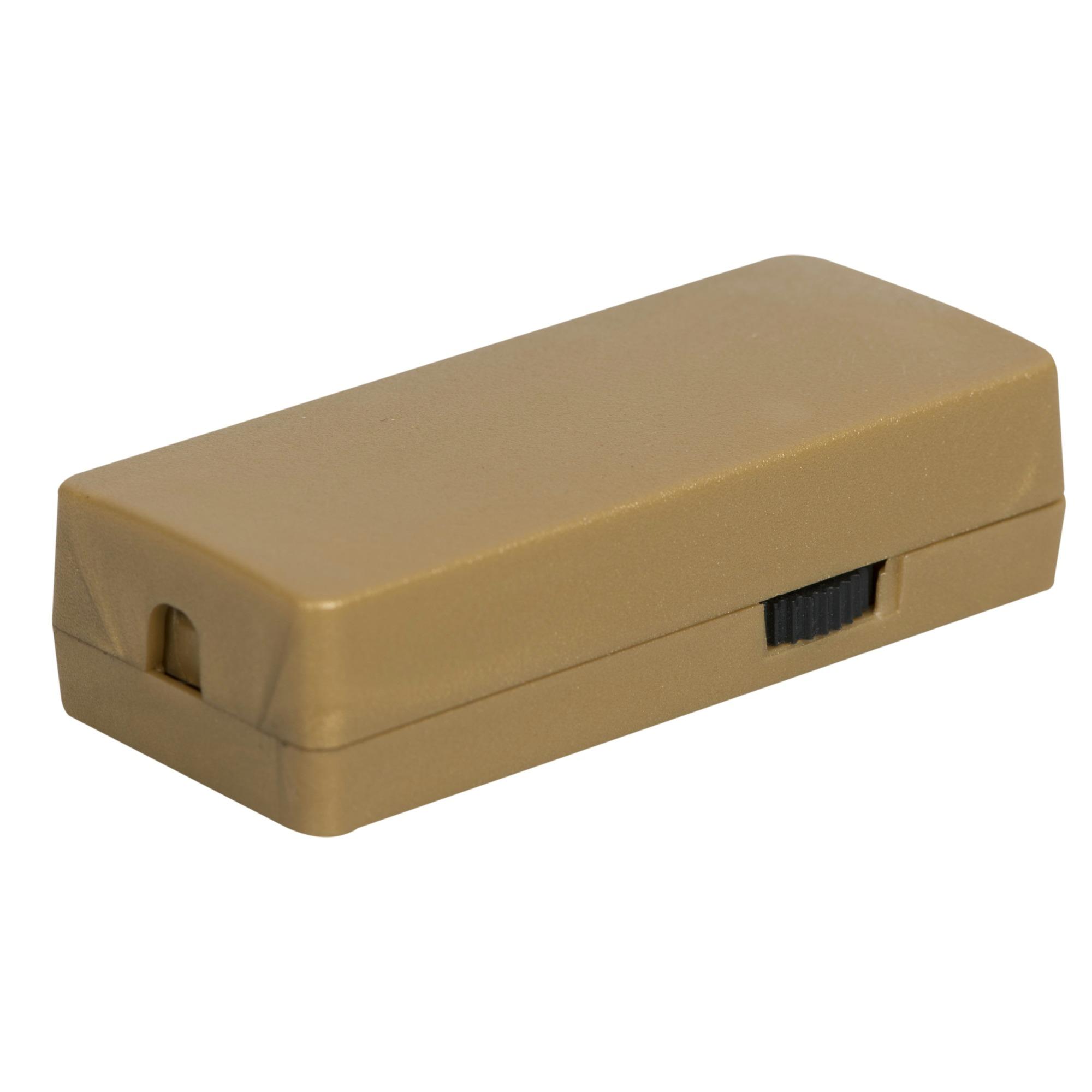 GAMMA LED snoerdimmer 1-25 watt brons