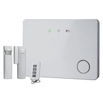 Smartwares Mini Alarmsysteem met Bewegingsmelder Magneetcontact en Afstandsbediening Draadloos HA701IP