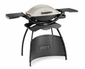 Weber gasbarbecue Q2000 titaan 130x59 cm