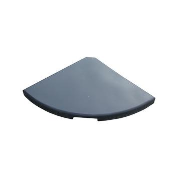 Betontegels 50x50 Gewicht.Parasolvoettegel Antraciet 17 Kg 46x46 Cm