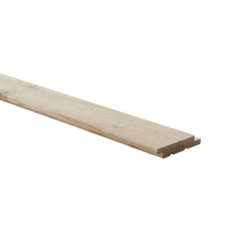 Wood wall paneel Driftwood pure 18x83 mm 270 cm 5 stuks