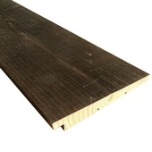 Zweeds rabatdeel barnwood brown 12/27x180 mm x 300 cm
