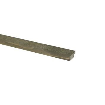 Wood wall hoeklijst Driftwood grey 18X44 mm 270 cm