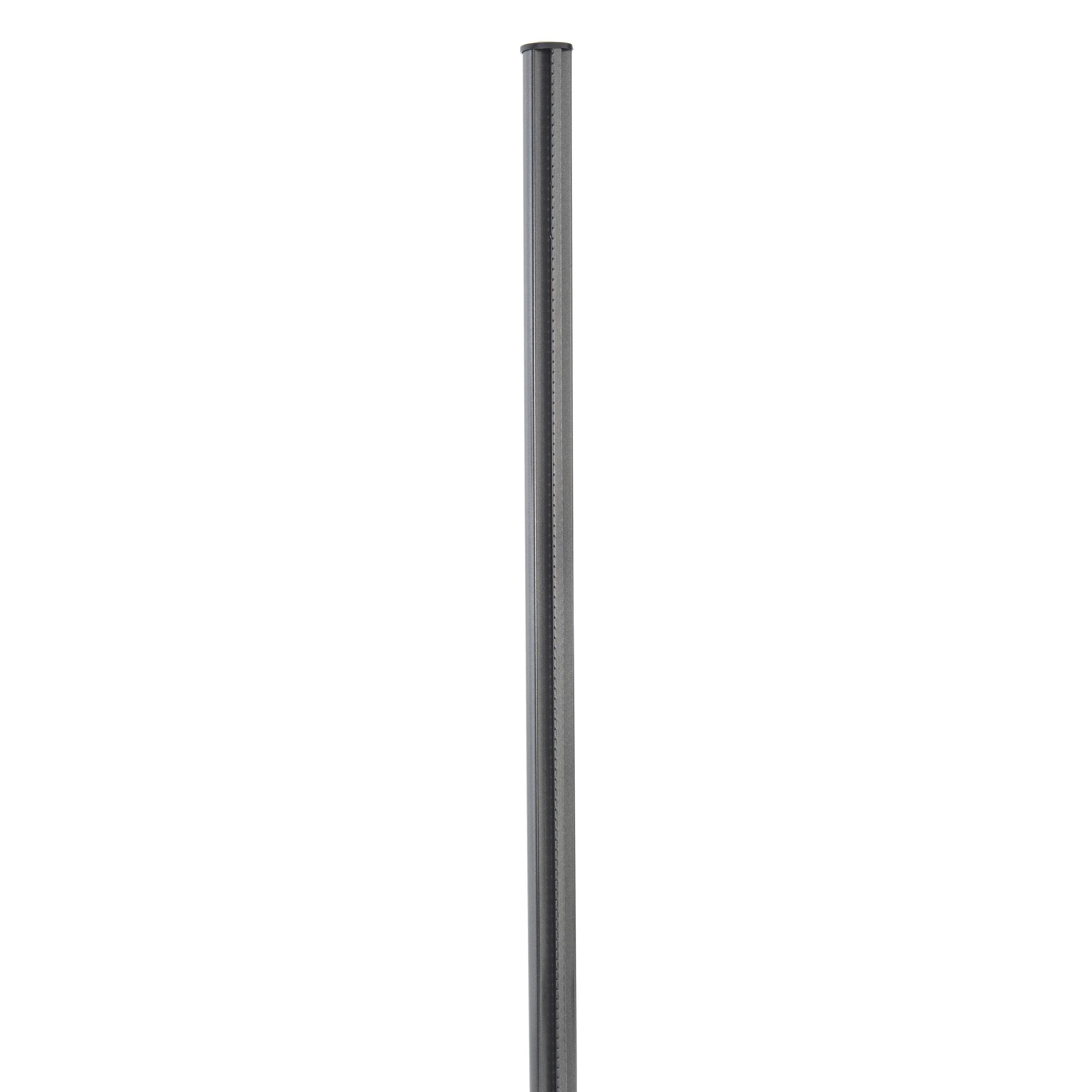 Bekaclippaal antraciet 4,8x70 cm