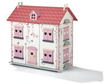 Gamma houten poppenhuis 19 delig kopen houten speelgoed for Poppenhuis te koop