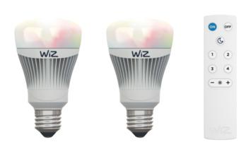 WiZ LED 2 X E27 inclusief afstandsbediening