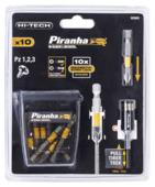 Piranha Screwlock PZ schroefbitset 10 delig X62605-XJ