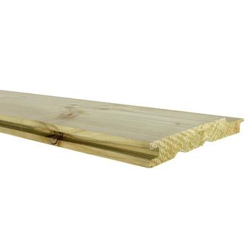 Rabatdeel vuren ca. 1,7x13,5 cm, lengte ca. 180 cm