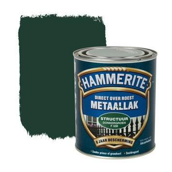 Hammerite metaallak structuur donkergroen 750 ml