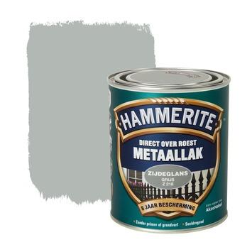 Hammerite metaallak grijs zijdeglans 750 ml