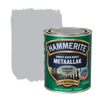 Hammerite metaallak zilvergrijs zijdeglans 750 ml