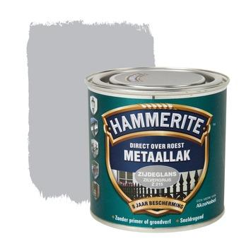 Hammerite metaallak zilvergrijs zijdeglans 250 ml