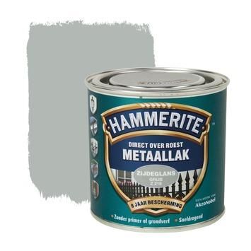 Hammerite metaallak grijs zijdeglans 250 ml