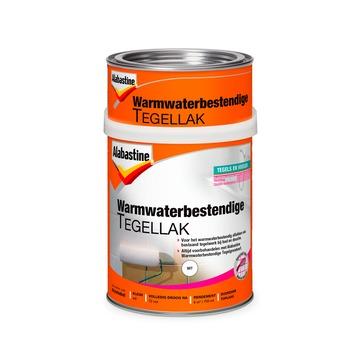 Alabastine Warmwaterbestendige Tegellak Wit 750 ml