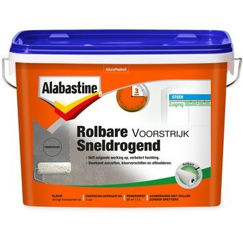 Alabastine rolbare voorstrijk sneldrogend transparant 5 liter