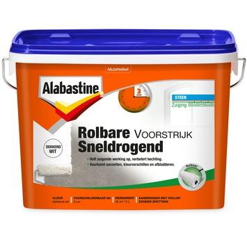 Alabastine voorstrijk rolbaar dekkend wit 5 liter