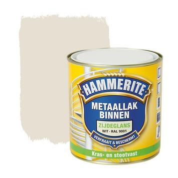 Hammerite metaallak binnen RAL 9001 crème wit zijdeglans 500 ml
