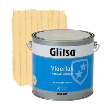 Glitsa Normaal Gebruik vloerlak kleurloos eiglans 2,5 liter