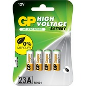 GP high voltage 23A 4 stuks