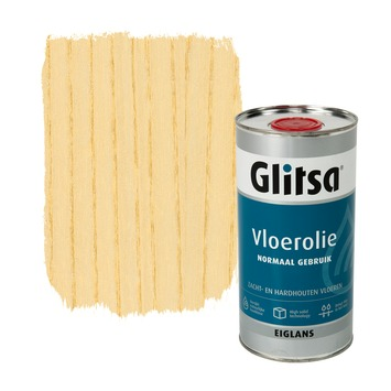 Glitsa Normaal Gebruik vloerolie kleurloos eiglans 1 liter