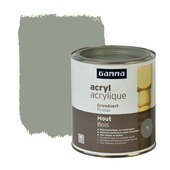 GAMMA grondverf hout grijs 750 ml