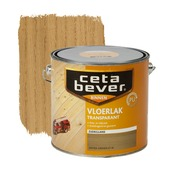 CetaBever vloerlak transparant antiek grenen zijdeglans 2,5 liter