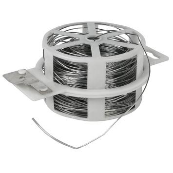 Bindingfix gegalvaniseerd metaaldraad ø 0,7 mm  50 stuks