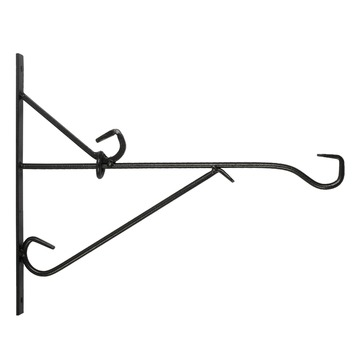 Bindingfix muurhaak smeedijzer zwart 35 cm