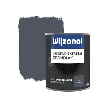 Wijzonol Dekkend Extreem grondverf blauwgrijs 750 ml