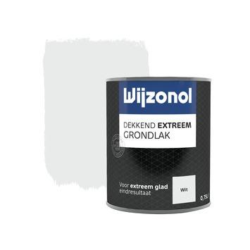 Wijzonol Dekkend Extreem grondverf wit 750 ml