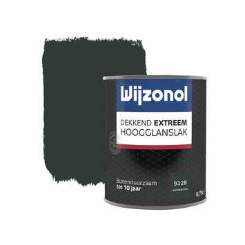 Wijzonol Dekkend Extreem antiekgroen hoogglans 750 ml