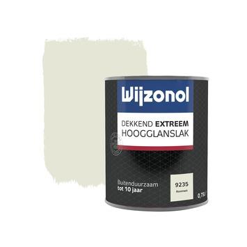 Wijzonol Dekkend Extreem roomwit hoogglans 750 ml